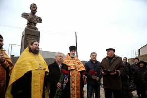 В Севастополе освятили памятник Николаю II