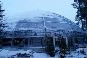 В Мурманской области над петроглифами возвели защитный купол