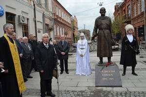 Во Владикавказе открыли памятник Сека Гадиеву