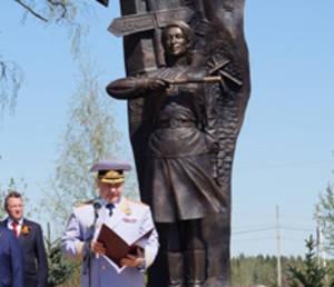 В Подмосковье открыли памятник женщинам-регулировщицам дорожного движения