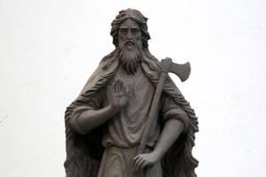 В Калуге установлен памятник святому Лаврентию