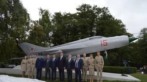 В Обнинске появился памятник истребителю МиГ-21