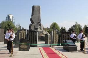 В столице Чечни открыт памятник воинам Дикой дивизии