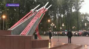 В Электростали установили памятник «Катюше»