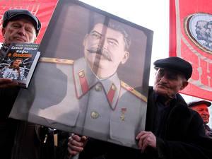 В Марий Эл установлен памятник Сталину