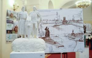 В Старой Ладоге установлен памятник князьям Рюрику и Олегу
