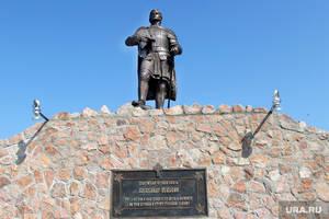 В с. Частоозерье открыли памятник святому благоверному князю Александру Невскому
