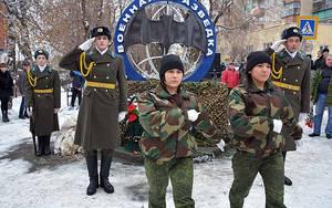 В Белорецке открыт монумент военным разведчикам