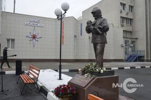 В Белгороде открыт памятник пожарным и спасателям