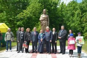 В Тамбовской области открыли памятник Марии Поленовой