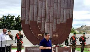 В Дербенте открыли памятник-менору в память о евреях, воевавших в Великую Отечественную