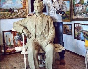 В Воронежской области открыли памятник великому актеру Николаю Рыбникову