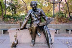 В Москве появится памятник Андерсену и его персонажам