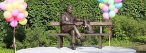 Памятник учёному с лисицей появился в Академгородке
