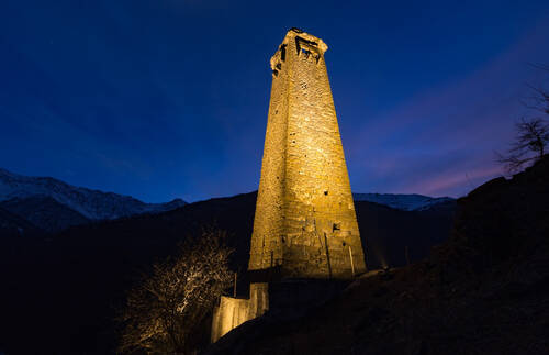 В Чечне отреставрируют башню, построенную в XIII веке