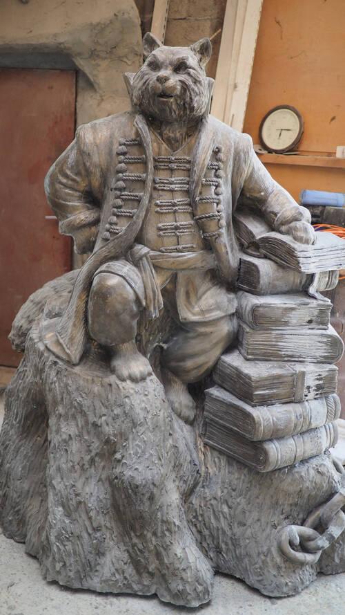 В Рязани установят скульптуру Кота учёного