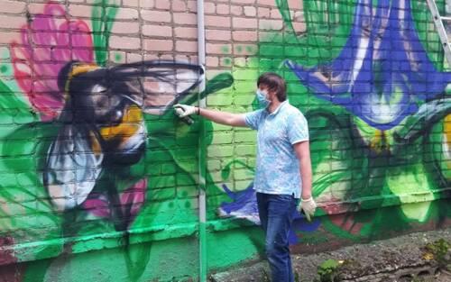 В Брянске проходит фестиваль уличных граффити