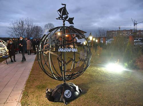 В Йошкар-Оле открыли памятник внутримариэльским туристам