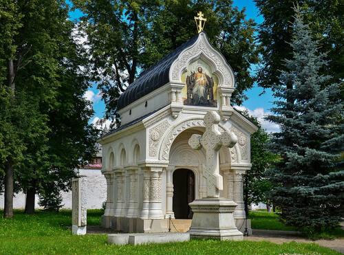 В Суздале восстановят мозаику на усыпальнице Дмитрия Пожарского