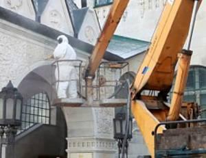 Впервые за 100 лет здание нижегородского отделения Госбанка подверглось чистке