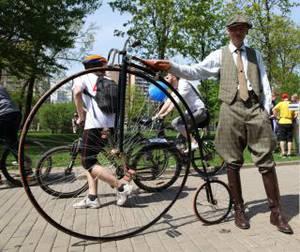 """Исторический велопробег пройдет на аллеях парка """"Сокольники"""""""
