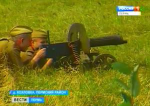 Под Пермью реконструировали битву под Ржевом 1942 года