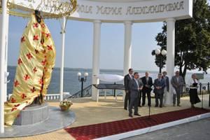 В Чувашии открыли памятник российской императрице Марии Александровне