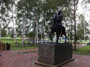 В Атаманово появился памятник Атаману