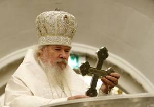 В Великом Новгороде установлен бюст Патриарху Алексию II